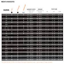 Simms Boots Size Chart Simms G3 Guide Mens Stockingfoot Waders