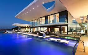 Architecture:Amazing Modern House With Outdoor Swimming Pool Amazing Modern  House With Outdoor Swimming Pool