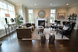Living Room Staging Stylish Staging That Has Comfort In Mind