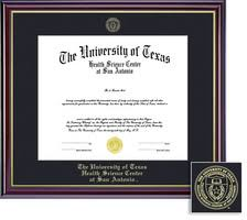 diploma frames ut health science center san antonio bookstore framing success windsor diploma frame in gloss cherry finish and gold trim