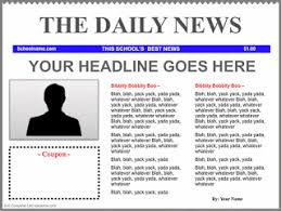 How To Create A Newspaper Template On Microsoft Word How To Create A Newspaper In Microsoft Word By Filonia Lechat