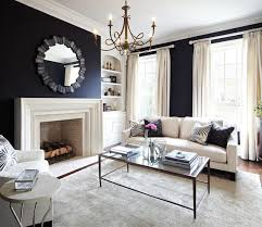 living room traditional formal and enclosed living room idea in dallas with black walls email save lisa petrole photography