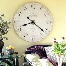 white vintage wall clock clocks black large extra retro uk for you