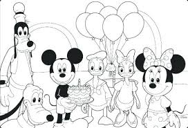 Printable Mickey Mouse Coloring Sheets Kbtstockholmorg