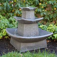 diy zen lighted outdoor fountain wall water fountains masterbc593 backyard lawn led lighted outdoor