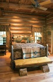 Log Cabin Style Living Room Furniture Bedroom Decor Beds Mountain