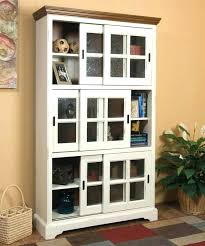 ikea glass bookshelf white bookcase with doors book shelves drawers wide bookshelf cabinet corner ladder billy