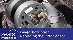 Replacing the RPM Sensor on a Garage Door Opener - YouTube