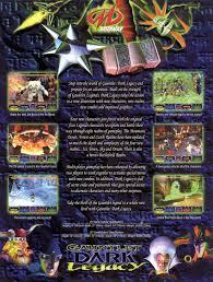 Dark Flyer The Arcade Flyer Archive Video Game Flyers Gauntlet Dark Legacy