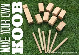 Lawn Game With Wooden Blocks DIY KOOB The Best Lawn Game Ever 28