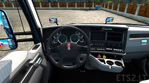 bright interior for kenworth t680