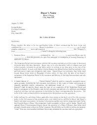 Resume Letter Of Intent Examples Sidemcicek Com