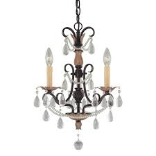 features minka lavery 19 3 4 inch three light mini chandelier