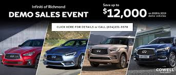 Infiniti Of Richmond New And Used Car Dealership Cars