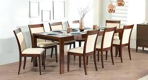 8 seater dining table set 6 to 8 extendable 8 glass top dining table set 8