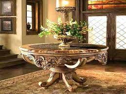 round entrance table foyer entry with round table on my dream list extra entrance hall table round entrance table