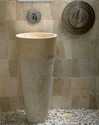 classy white and unique pedestal sink bathroom design ideas ethnic round shape padestal sink bathroom