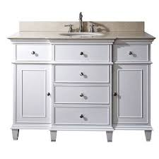 windsor 48 inch vanity only in white finish