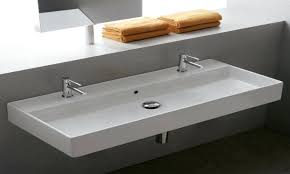 wide bathroom sink two faucets wide bathroom sink two faucets mini widespread bathroom sink elegant design