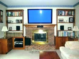 mounting on brick fireplace hang wall in tv mount for above fireplace wall mount above mounting over brick