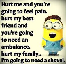 Funny Quotes About Family Inspiration Funny Minion Quote About Family Pictures Photos And Images For
