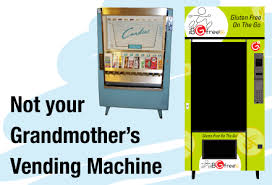 Gluten Free Vending Machine Snacks Awesome IBGFree Gluten Free On The Go Not Your Grandmother's Vending Machine
