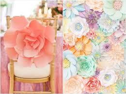 Paper Flower Decor 35 Creative Paper Flower Wedding Ideas Deer Pearl Flowers