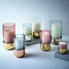 glass candle metallic paste glass candle holder mercury glass candle holders bulk