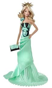 barbie doll collectible value for the newest collectible barbie statue of liberty barbie doll