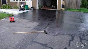 sealing asphalt driveway pros and cons. Interesting Cons The Type Of Sealer We Got Said To Use A Squeegee Apply It You Just Pour  Bunch Across The Driveway Starting At Highest Point And Then Work Your  To Sealing Asphalt Driveway Pros And Cons Madness U0026 Method