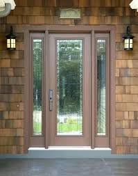 front door with stained glass full light exterior doors stained front doors craftsman front door with