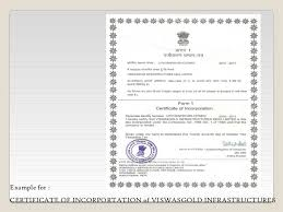 Example Of Share Certificate New Formation Of Companies