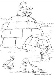 Small Picture Polar Bear coloring picture