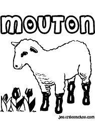 Dessin Imprimer Prefix En Ligne Gratuit Mouton