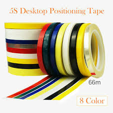 2x Self Adhesive Whiteboard Grid Marking Chart Tape 50m X