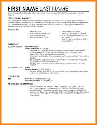 8 Job Resume Samples For Starters Writing A Memo