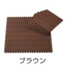 class 108 pieces of woody mat 6 tatami grain of wood joint mat floor mat