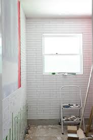 bathroom tile progress