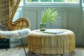 round wicker ottoman outdoor wicker chairs with ottomans rattan ottoman round table glass top coffee white rattan ottoman coffee table