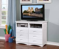 Cambridge White Entertainment Dresser 0271