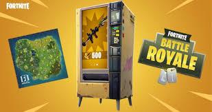 How To Get Vending Machine Locations Beauteous Here Are All The Fortnite Vending Machine Locations Ballsie