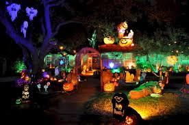 Outdoor Halloween Lights 32 Creative Halloween Lights Decorations For Outdoor Ideas