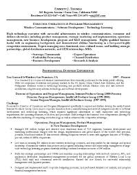Director Of Operations Resume Sample – Universitypress