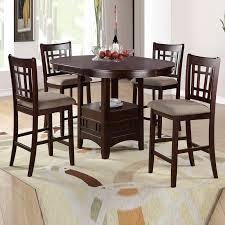 52 round high top table set kitchen furniture with regard to ideas 6