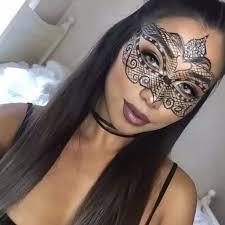 how to do eye makeup under masquerade