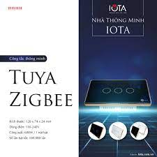 Công tắc thông minh Zigbee cao cấp ZIVIX