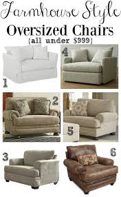 chair surprising oversized and ottoman 0 ashley