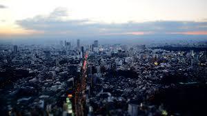 4546830 Japan Sunset Tokyo Tilt Shift Landscape