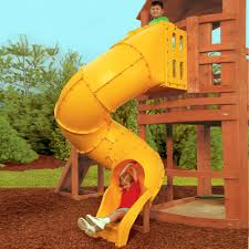 curved slide spiral tube slide swingsetmall com