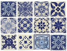 Blue And White Decorative Tiles blue patterned tiles Halsbrook Blue Pinterest Dell anima 3